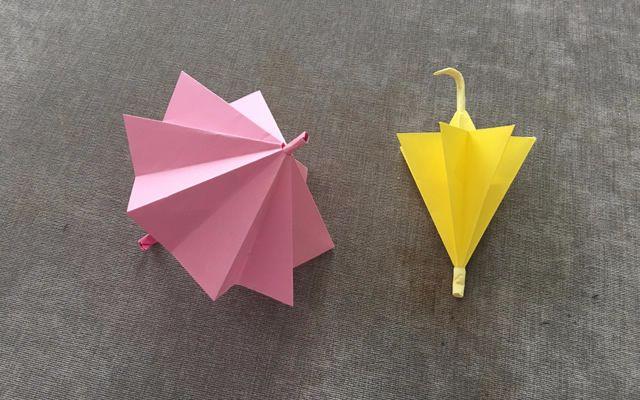 纸在乎你手工折纸 雨伞好尴尬的打开方式 哔哩哔哩 ゜ ゜ つロ干杯 图片