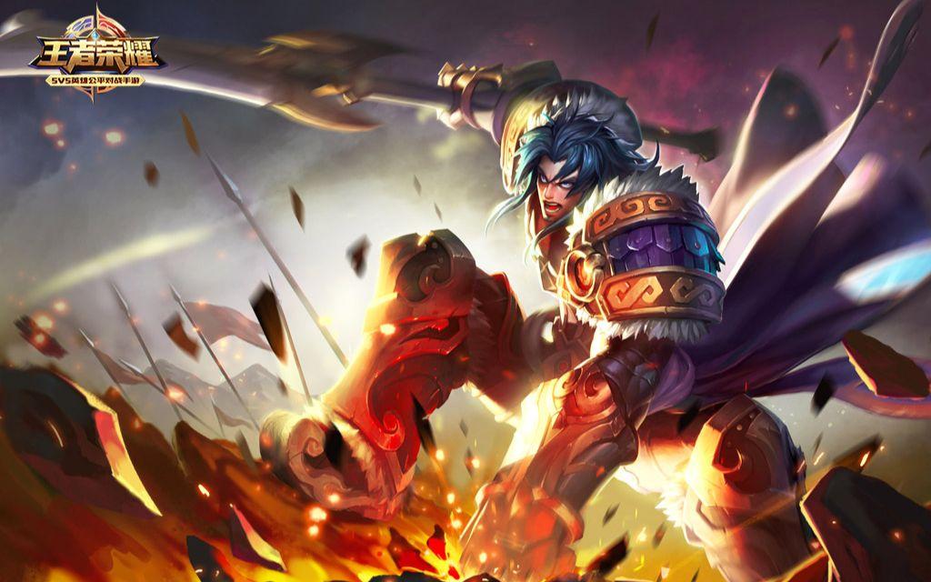 【十星的王者荣耀】第一次玩项羽冲锋就被打断了图片