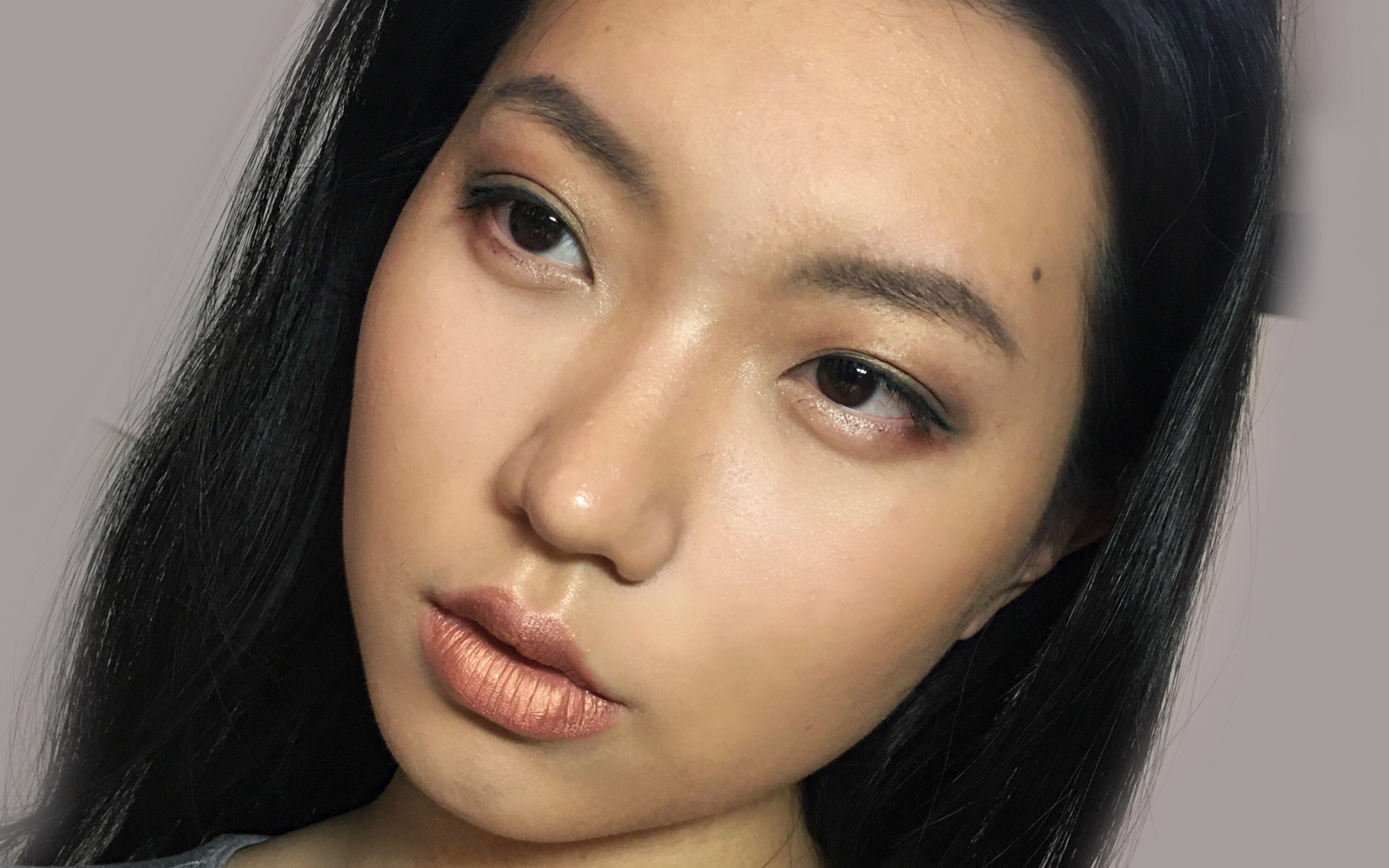 欧美妆容图片大全-美瞳美女图片