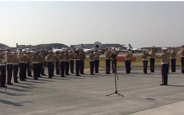 美国海军陆战队第三远征军乐队演奏《宇宙战舰大和号》