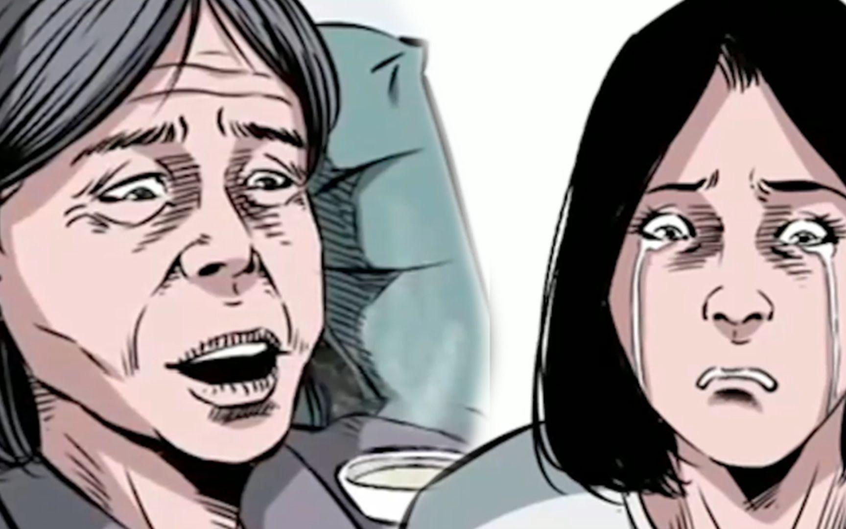 母亲重病女儿却不肯回家,直到女儿也感受到母亲的痛苦,细思极恐