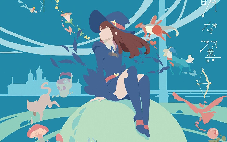 【完整版mv】「小魔女学园」ed2「隐形的翅膀」【720p】