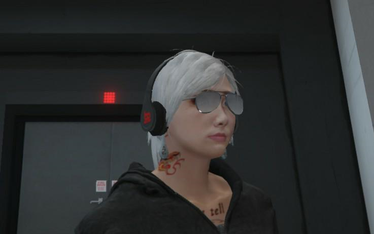 gta5美女捏脸数据超详细解说
