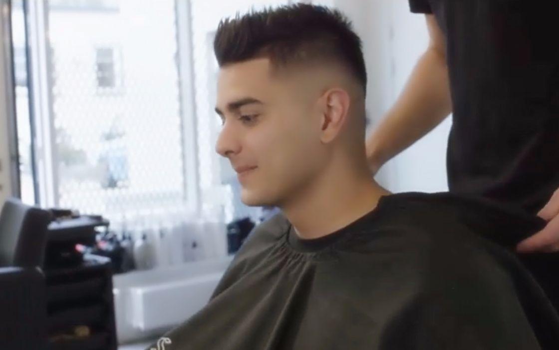 圆脸男生的发型有救了!2018男士短发设计剪完帅气十足!