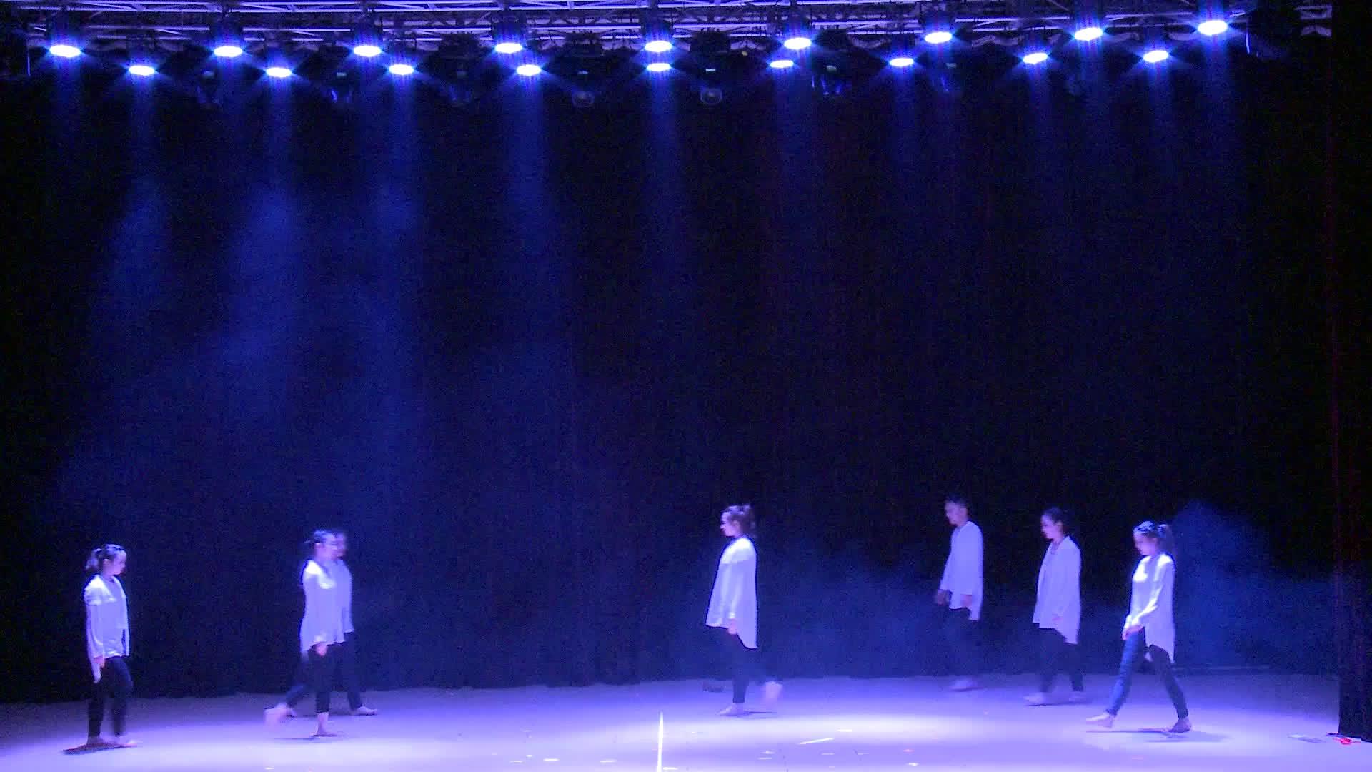 现代舞《我》——同济大学学生舞蹈团17周年专场演出