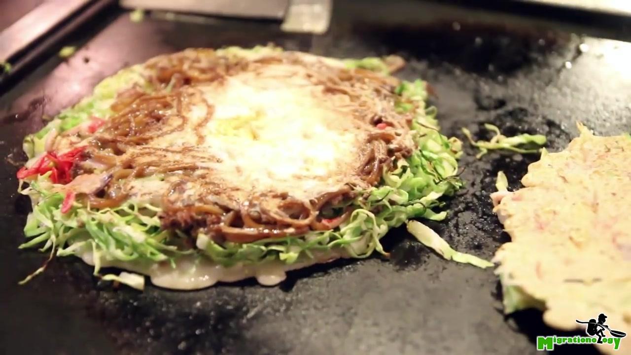 【马克的旅行世界】12 超人气的染太郎的御好烧,在怀旧老店享受日本传统美食