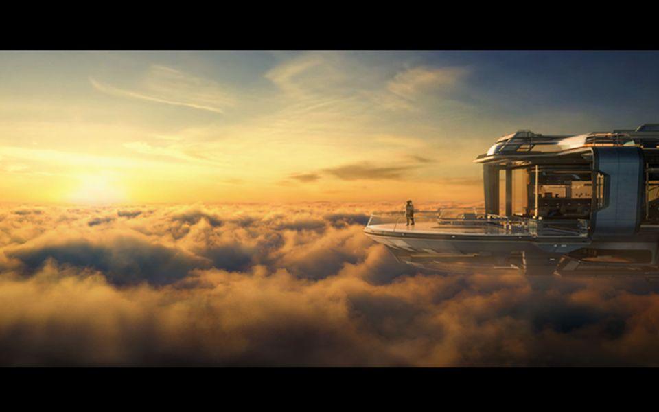 点石数码《云端之上》cgarchitect国际建筑三维大赛金奖作品