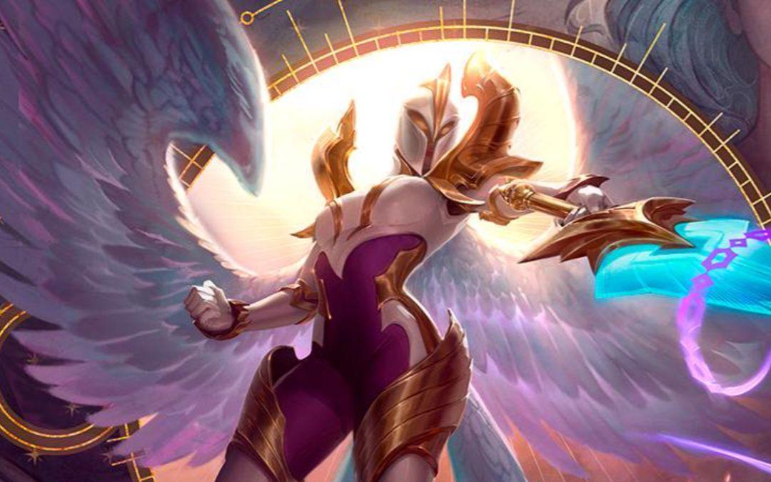 新版大天使凯尔技能预告cut我不是纯粹的正确,但却是绝对的光明