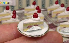 【HMS2】迷你模型之巧克力蛋糕u0026草莓蛋糕