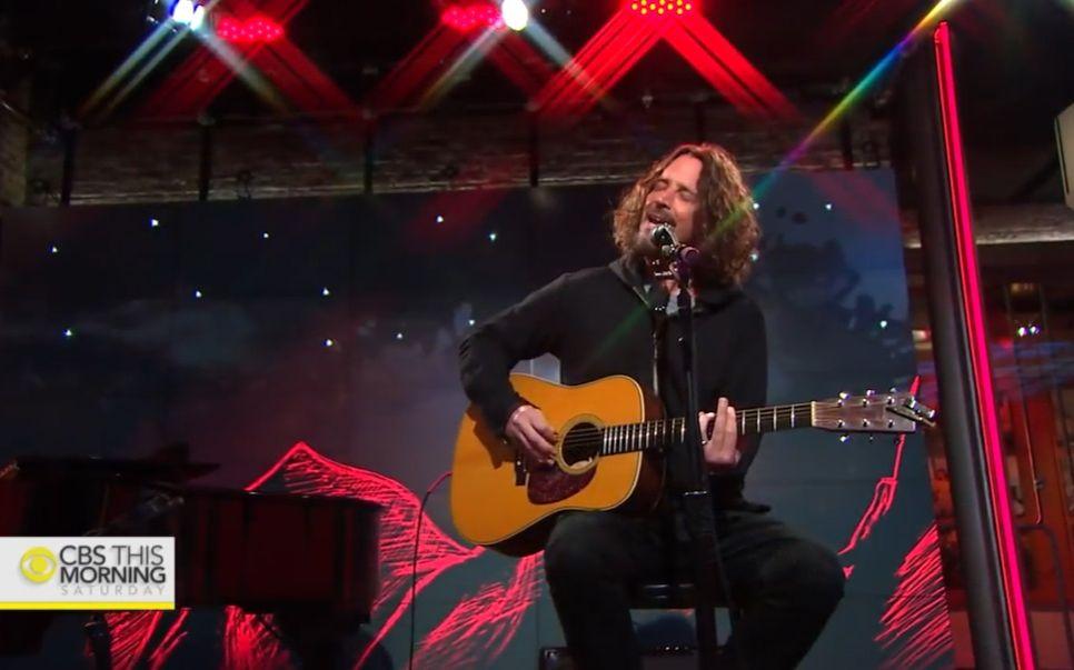 【Chris Cornell】Black Hole Sun Acoustic 2017