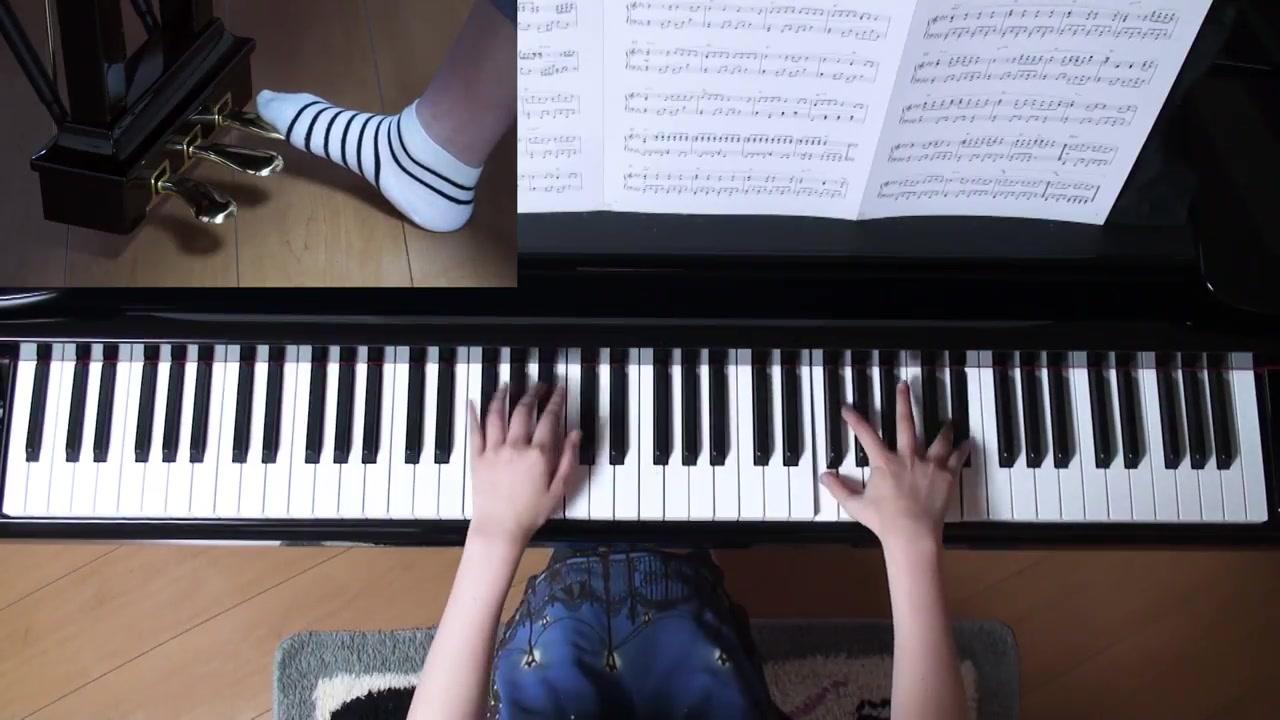 【钢琴】【你的名字】上级弹法,火花/前前前世/别来无图片