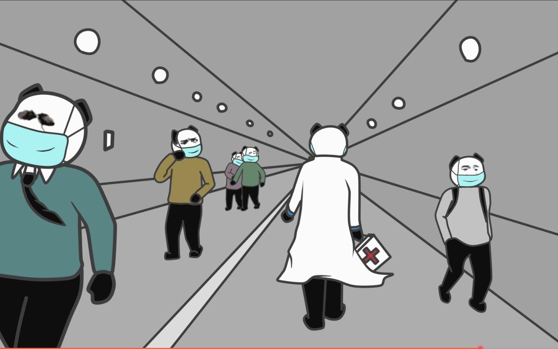 【不沙雕动画】小蓝是一位医生——《逆行》