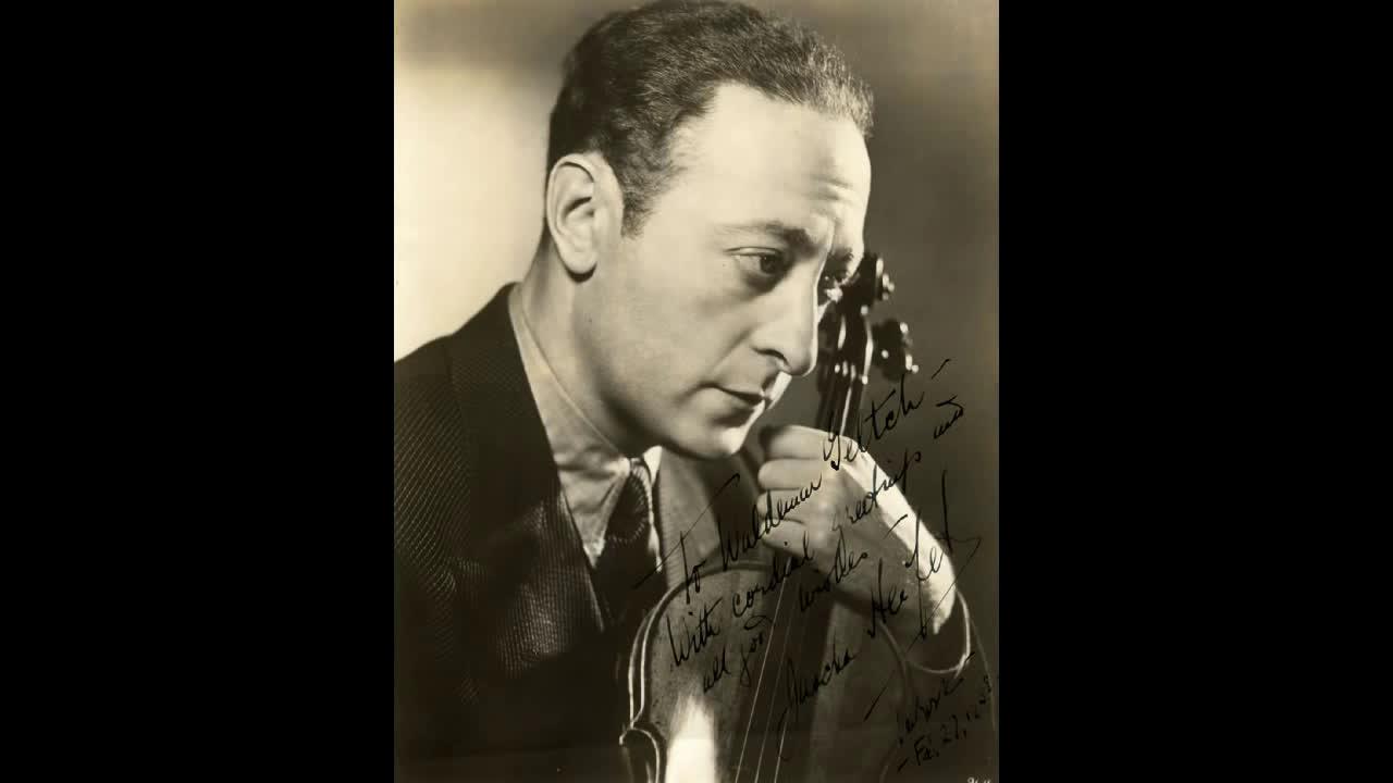 小提琴大师海菲兹演奏流浪者之歌_演奏_音乐_bilibili_哔哩哔哩弹幕视图片