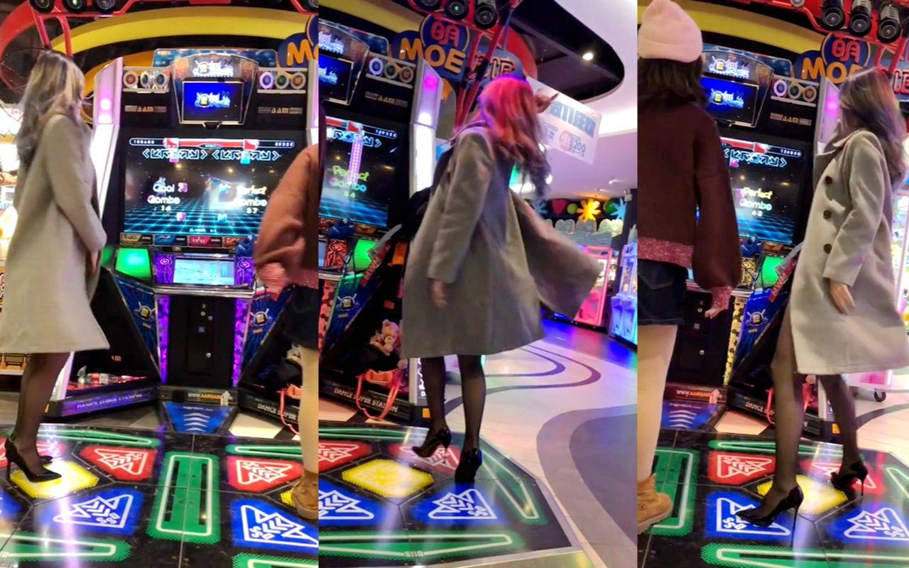 跳舞机-在性感面前,卡哇伊显得不堪一击1