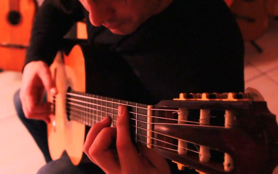 【古典吉他】唯美音乐MV - A Bailarina丨Fabio Lima