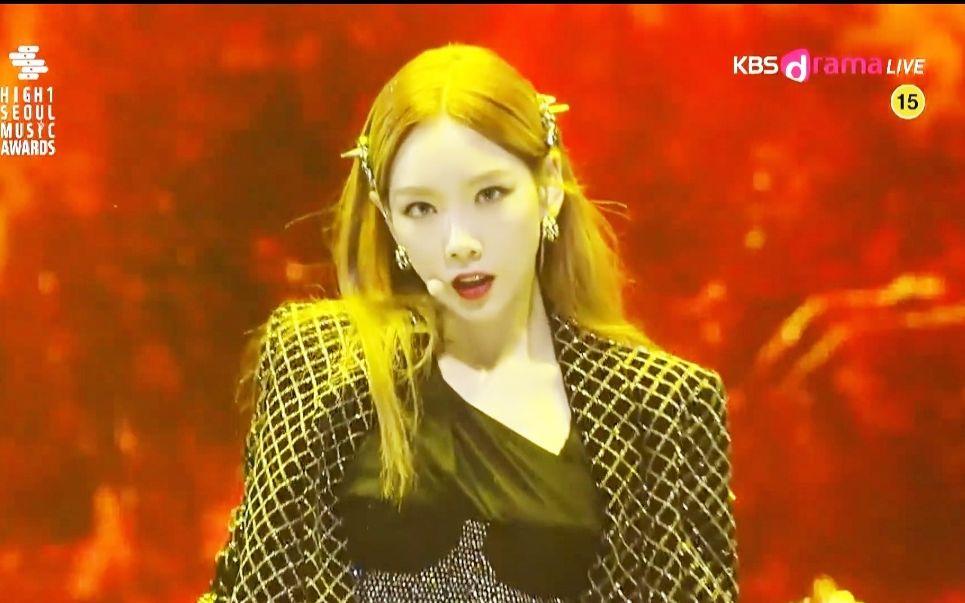 金泰妍Spark首尔歌谣大赏高清舞台 终于等到放送版!