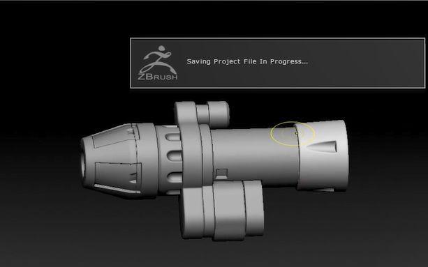 【3D建模】守望先锋次世代武器制作