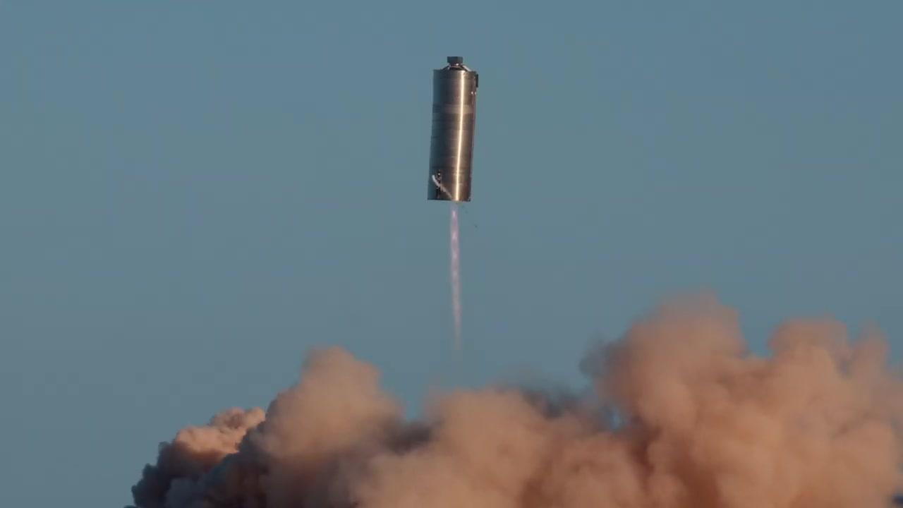 4K- SpaceX Starship SN5 150 Meter Hop!