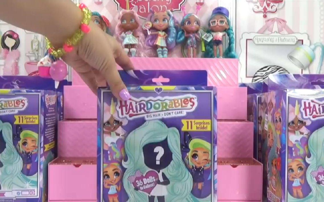 美发娃娃盲盒盒子图片图片
