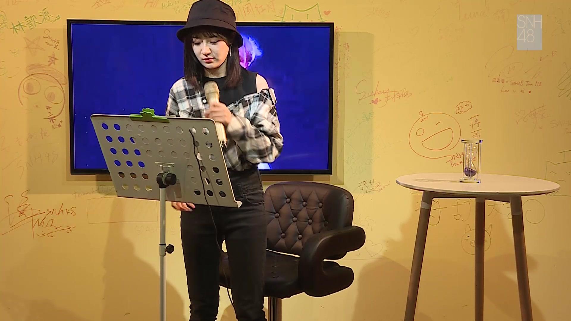 【SNH48】星梦剧院咖啡店Mini Live:李宇琪专场