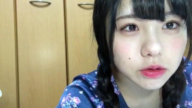 佐藤 佳穂(SKE48 チームE) (2018年01月08日22時57分40秒) SHOWROOM