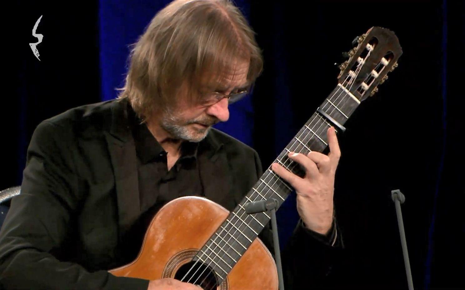 【古典吉他】David Russell 在线演奏会 Livestream 1