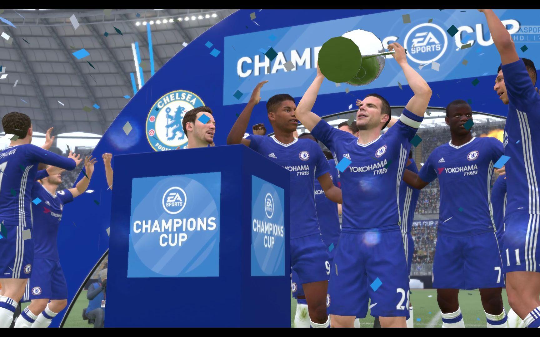 fifa17欧冠决赛拉师傅帽子戏法切尔西加时4球逆转图片