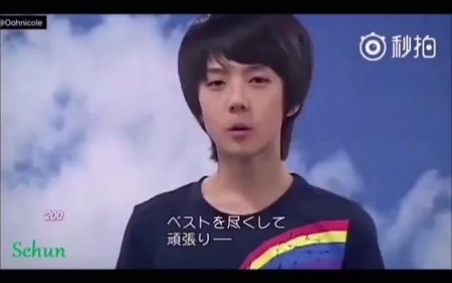 【EXO】出道前视频的不完全统计,我看以后谁还敢说金茶蛋整过容?