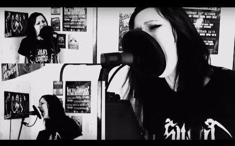 【极端嗓】妹子模仿各个金属乐主唱