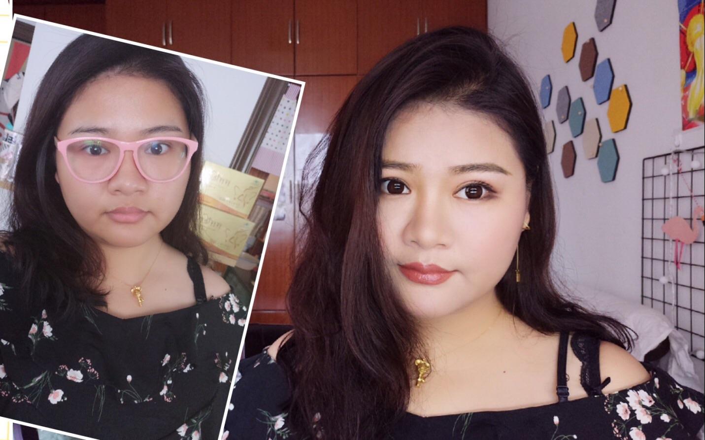 长得像泰国人如何化了妆更像泰国人!噔噔三分钟泰妆来袭!