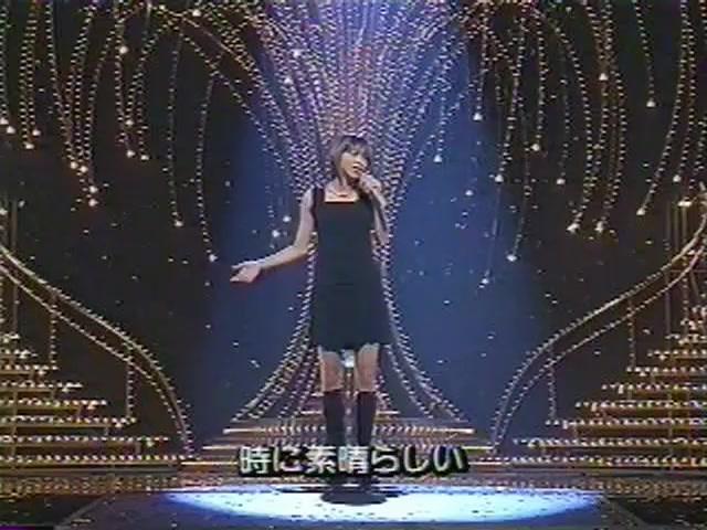 安室奈美惠-Can You Celebrate-1997年第48回红白歌会(红组压轴)