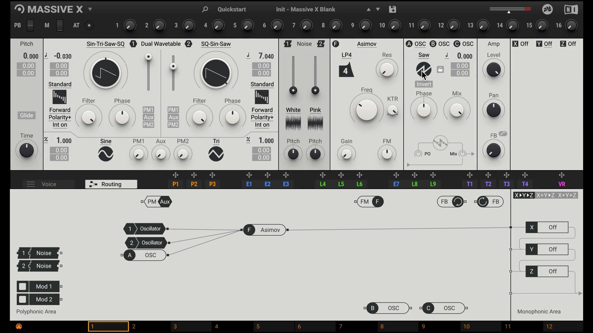 合成器学习 | 教你用 7 个振荡器做一个拨奏音色!