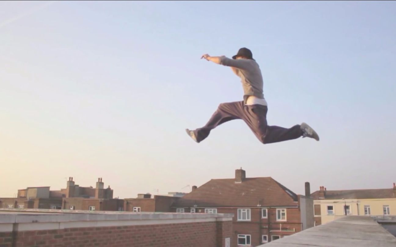 stretch of time - parkour/freerunning in 1000fps