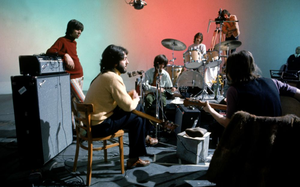 The Beatles 'Get Back' Recording Sessions (January 2 u0026 3, 1969)