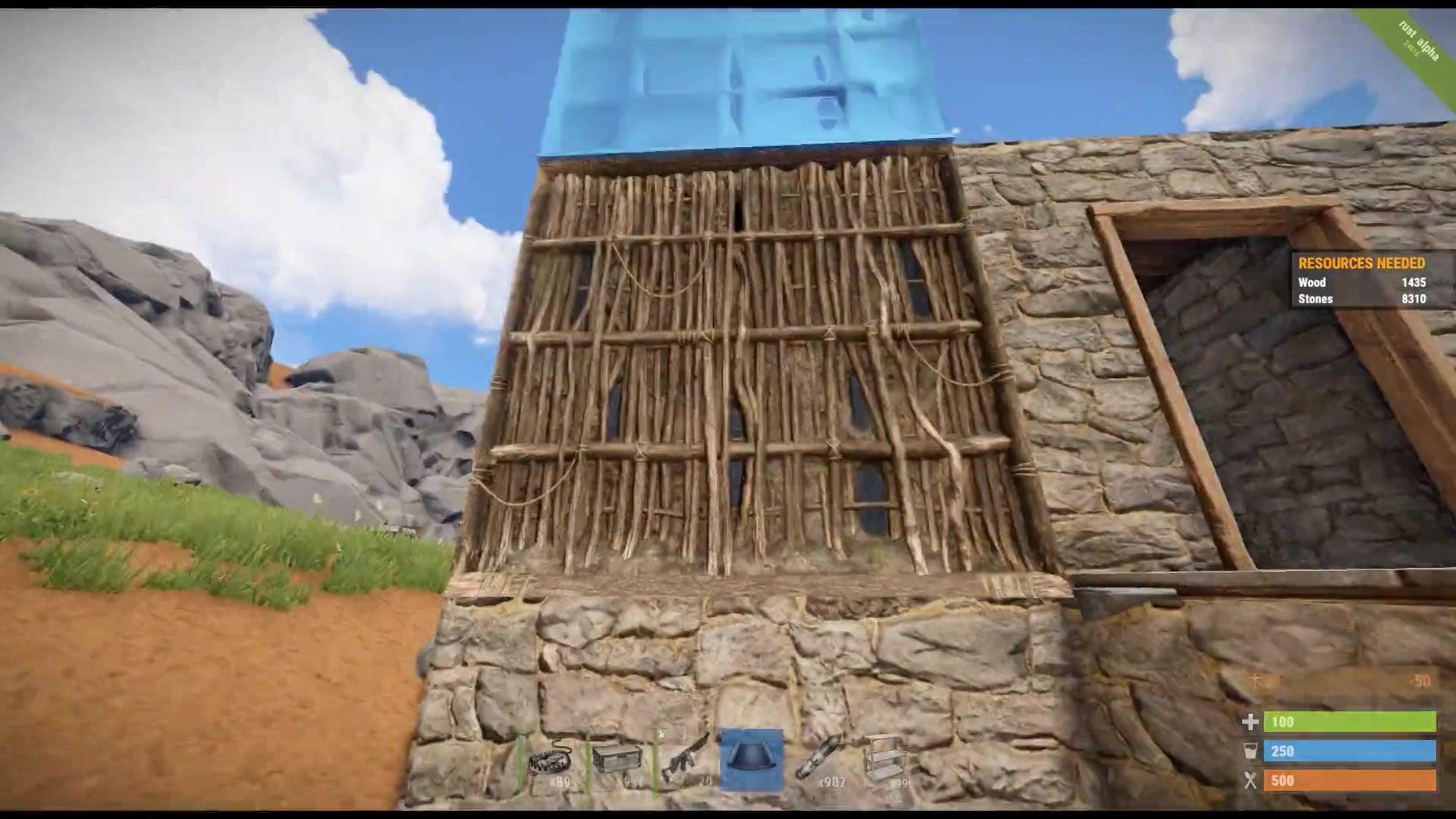千笑rust腐蚀生存p7:房子被抄 生活好迷茫视频图片