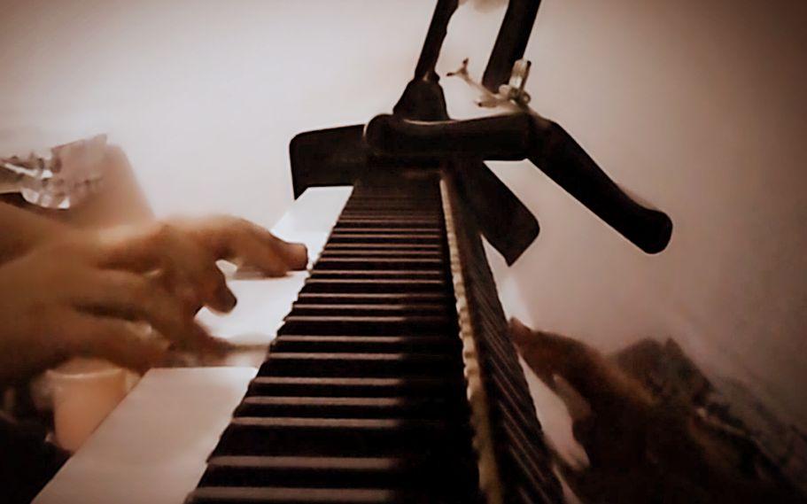 【钢琴蟹】《消愁》副歌还不全的即兴solo图片