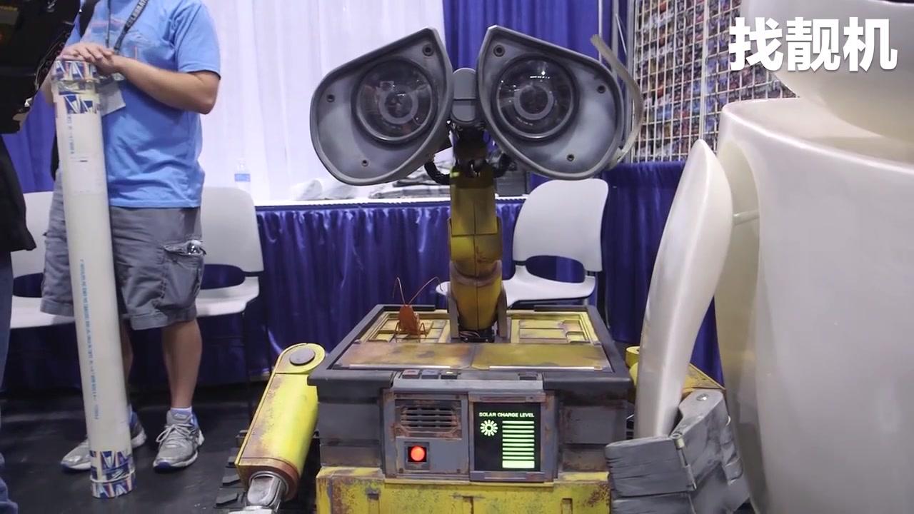 科幻照进现实,牛人自制瓦力机器人,eva你在哪儿?