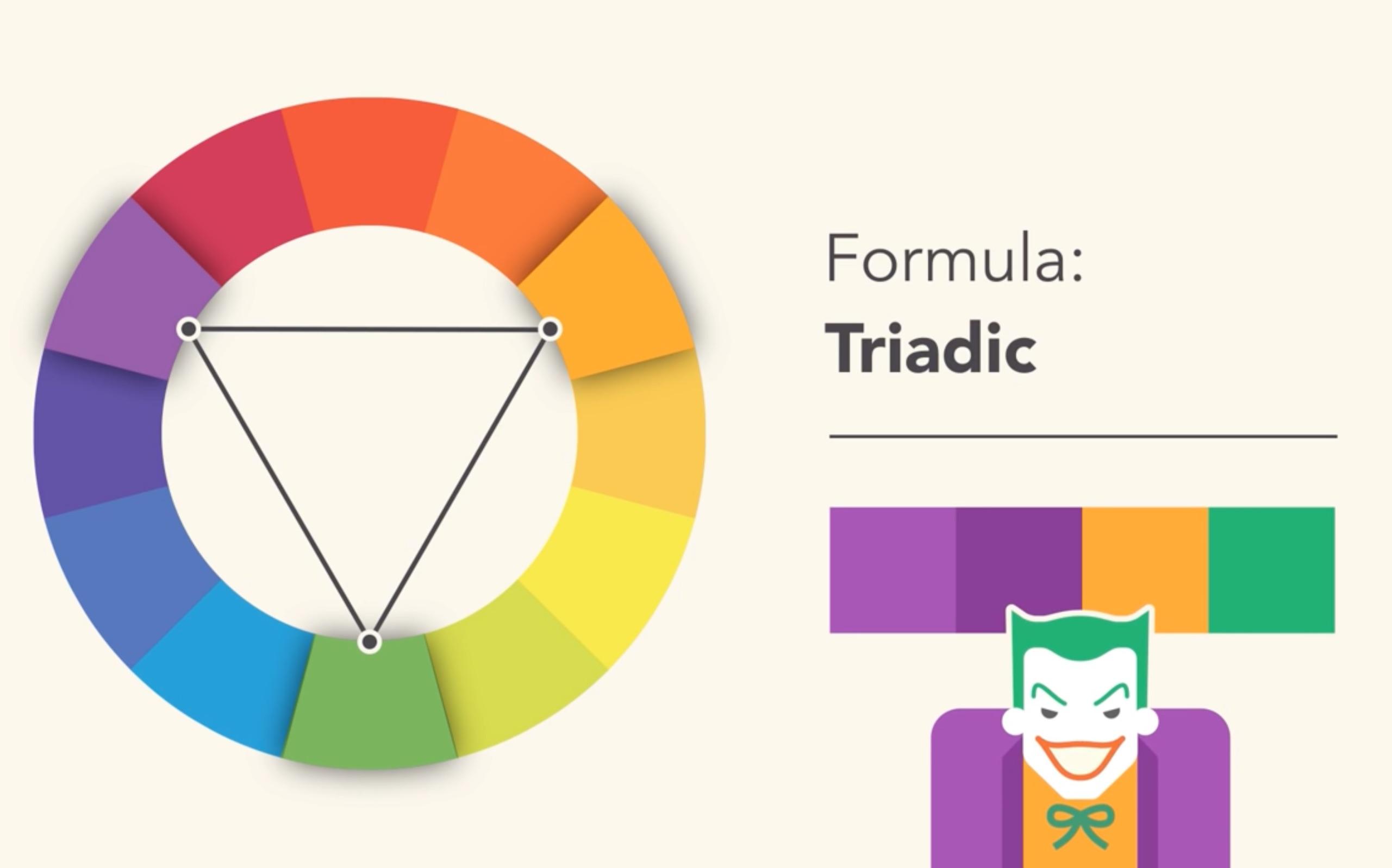 【基础平面设计】色彩理论-配色@tomding图片