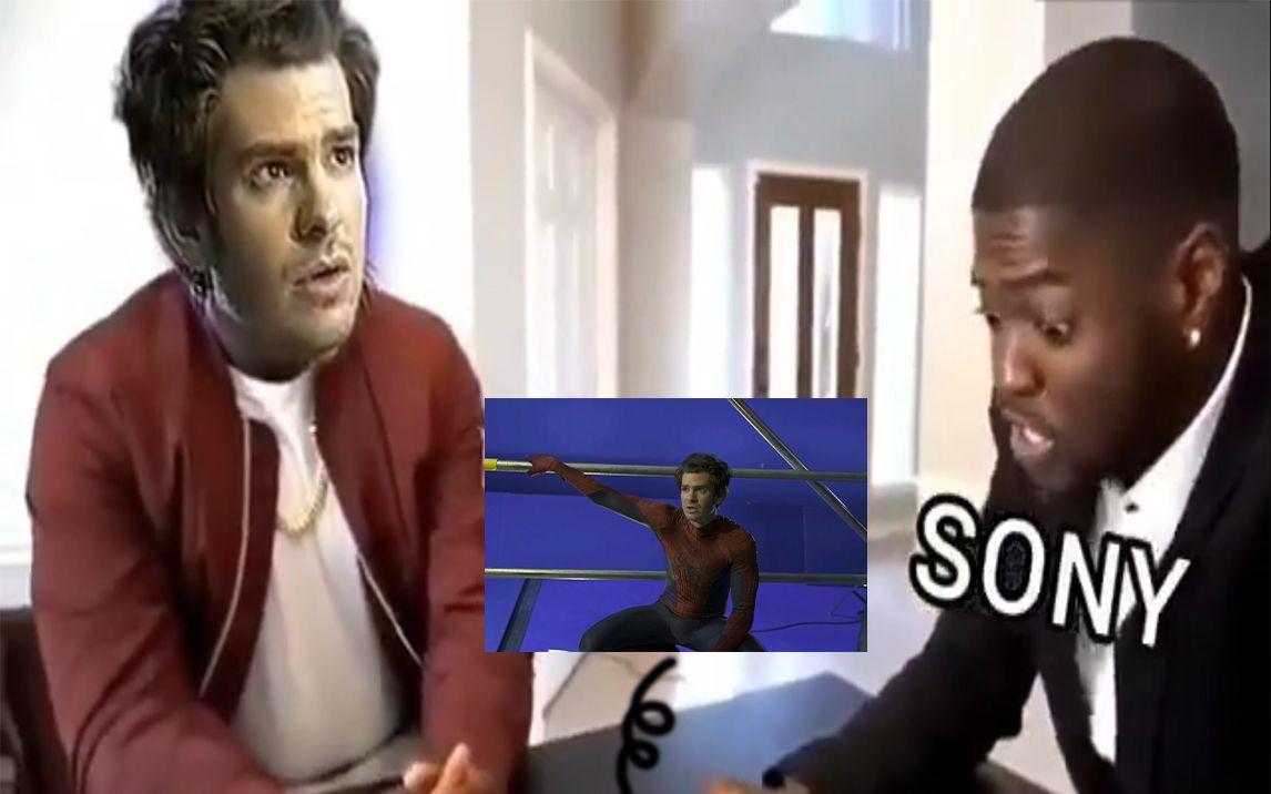 当索尼发现蜘蛛侠3片场视频泄露后…