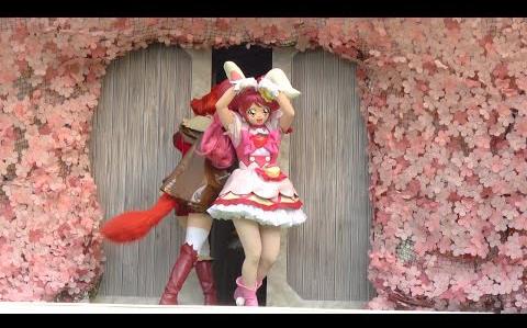 キラキラ☆プリキュアアラモードショー バイバイの挨拶!ハプニングあり