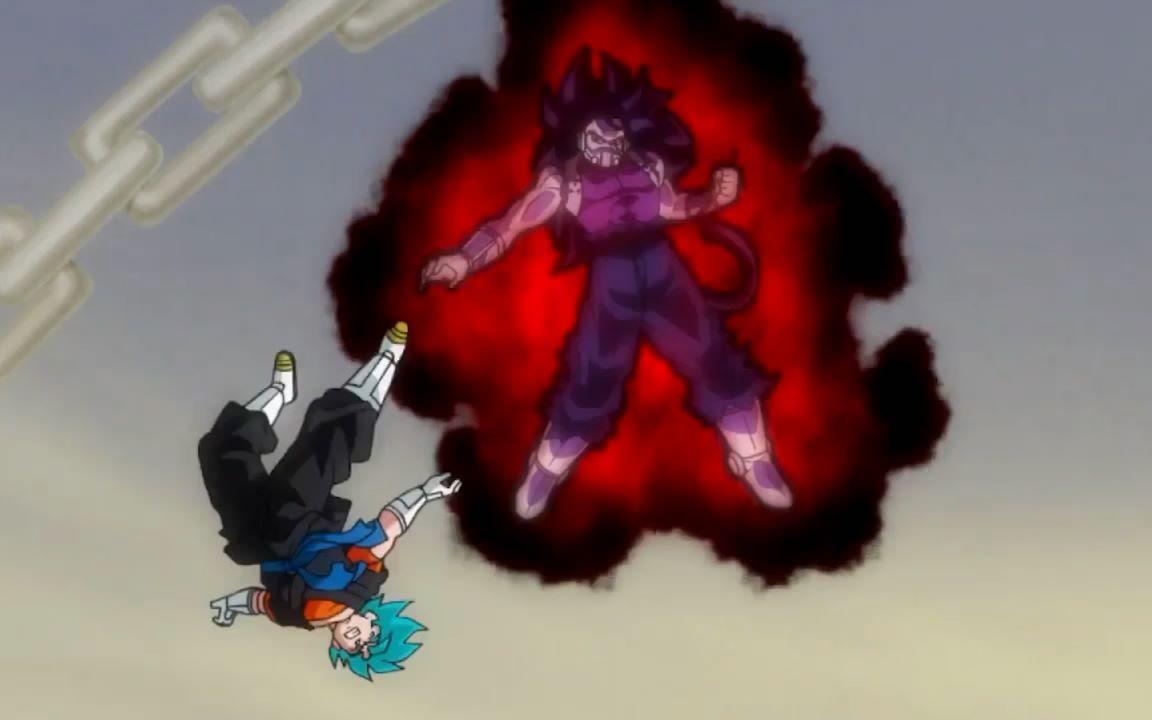龙珠英雄惑星监狱篇:超蓝贝吉特VS恶之赛亚人,贝吉特仍不敌