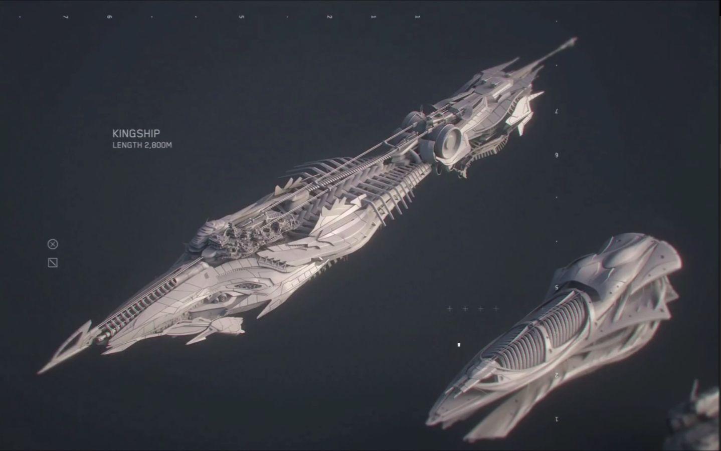 星际公民-飞船大小的对比