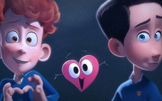 【果仁看动画】 心跳瞬间:小哥哥我有个东西要给你~  校园同志题材的动画短片 @果仁字幕组