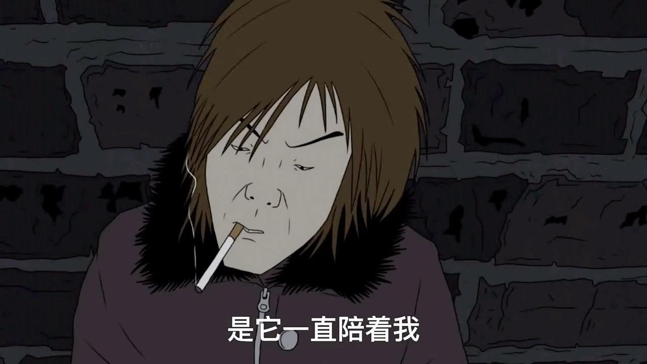 为什么喜欢抽烟呢因为在我最累的时候 是它一直陪着我