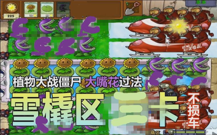 【僵尸植物雪橇】大战区四.三卡(大嘴花)不损车hddvr2.5操作说明图片