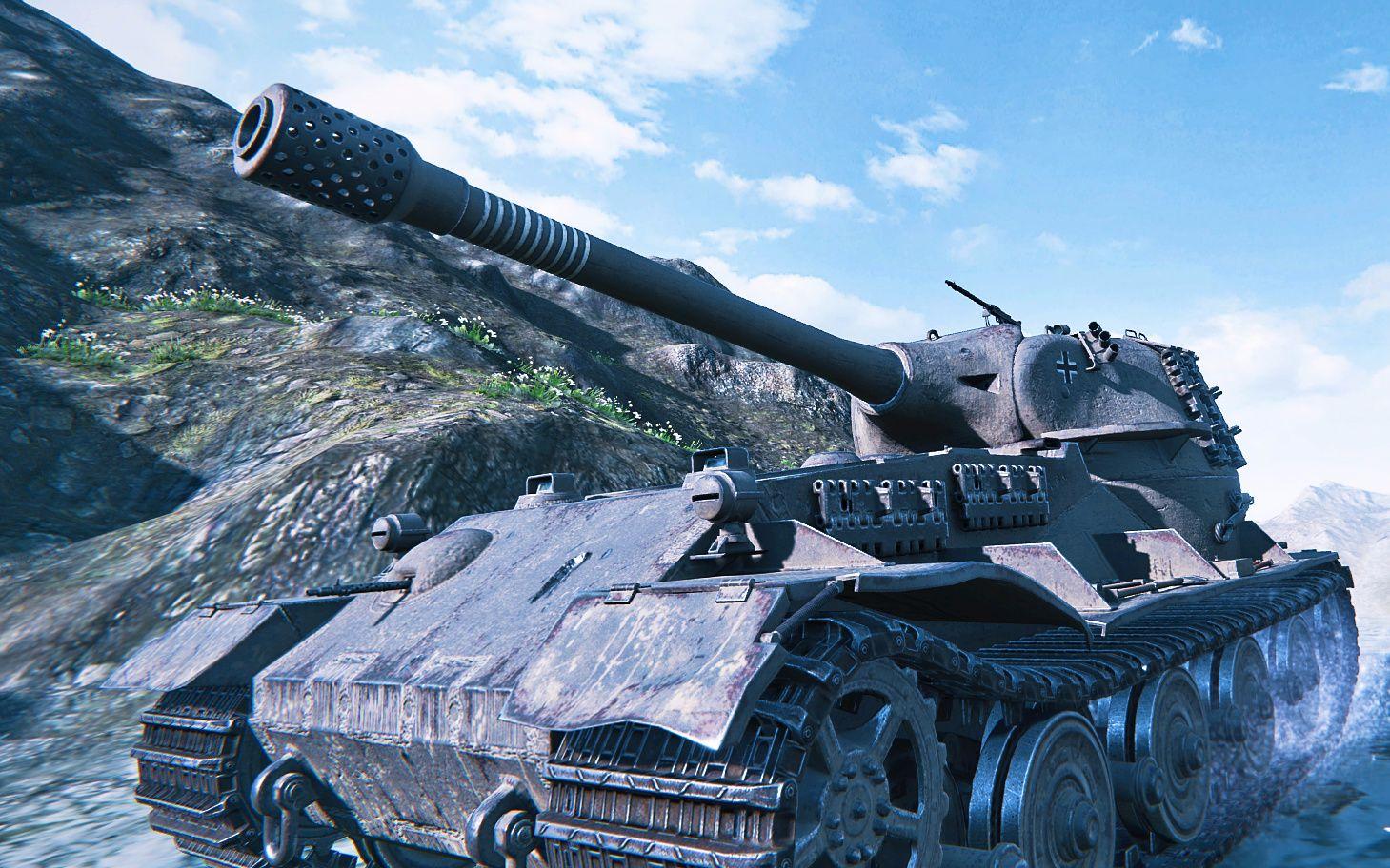 【坦克世界】vk7201 7000输出 关键时刻翻车 痛失万伤