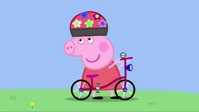 小猪佩琪 083 骑自行车