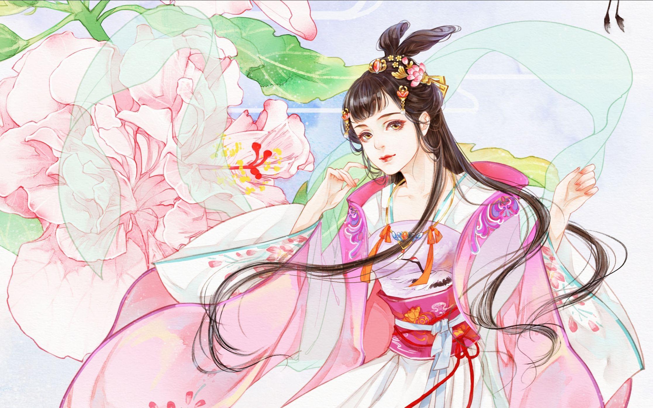 小仙女上色过程图片