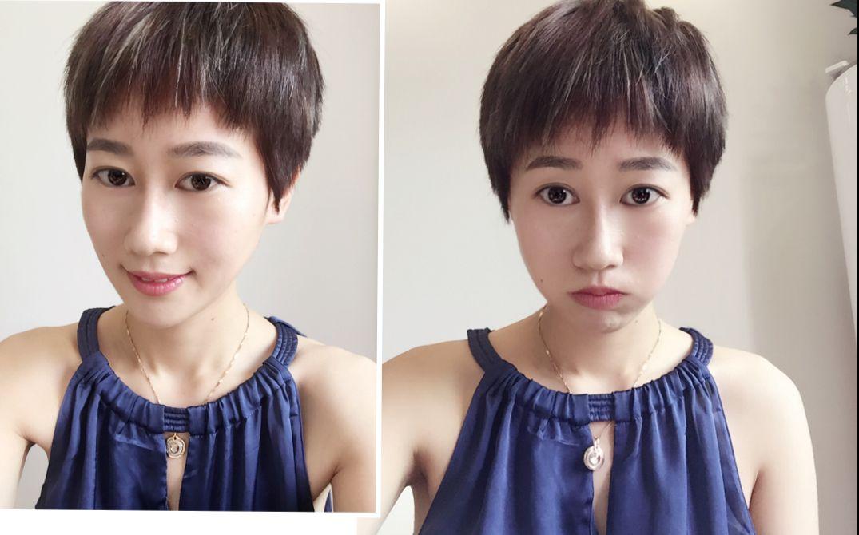 前方高能---超短发女生也可以性感和可爱,真的剪了剪了,逗逼来化妆图片