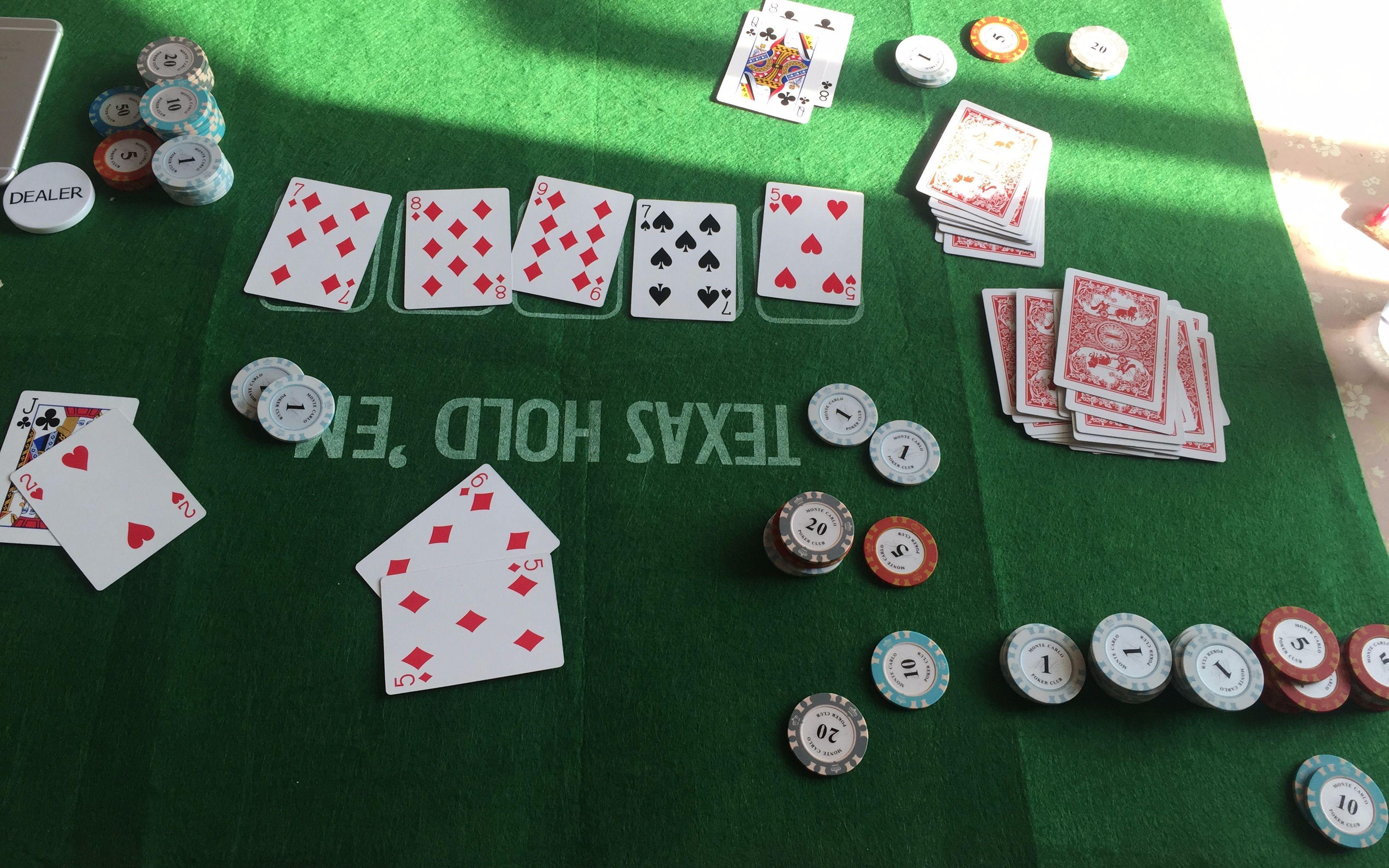 教我几个内容简单,神奇的扑克牌游戏吧,要讲清楚,附图